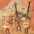 Musicians by Kestutis Kasparavicius