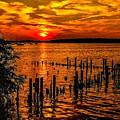 Muskegon Sunset by Nick Zelinsky