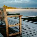 Muskoka Lake At Sunrise by Linda McRae