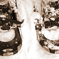 Muskoka Winter 4 - Canadian Dancing Shoes by Kathi Shotwell