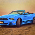 Mustang Ocean Shores Beach by Daniel Penn