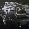 Mustang Rear by Richard Le Page
