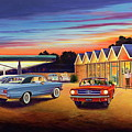 Mustang Sally - Shelton's Diner 2 by Randy Welborn