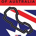 My 2017 Grand Prix Of Australia Minimal Poster by Chungkong Art