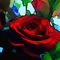 My Birthday Rose by Karen Harding