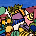 My Colorful World  by Maya Green
