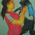 My Cute Dog by Vineeth Menon