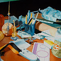 My Desk by Michael Henderson
