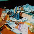 My Desk by Michael Henderson
