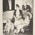 My Family, Second Stone George Bellows  by Second Stone George Bellows
