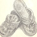 My Favorite Sandals by Doris Lindsey