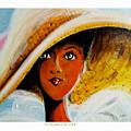 My Favorite Straw Hat II by C F Legette