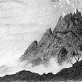 My Friend Told Me I Should Draw A Volcano by Nils Bifano