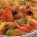 My Green And Red Bell Pepper With Chicken by Yuki Othsuka