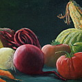 My Harvest Vegetables by Lorraine Vatcher
