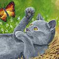 My Kitty by Carol Schmauder