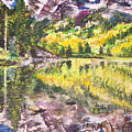 My Maroon Bells by Mary Anne Hjelmfelt