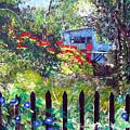 My Neighbors Garden by Sarah Hornsby