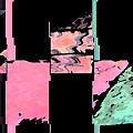 My Patio Abstract by Lenore Senior