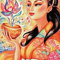 Kimono Flower by Eva Campbell