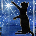 My Shinning Star - Christmas Cat by Dora Hathazi Mendes