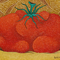 My Tomato  2008 by S A C H A -  Circulism Technique