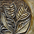 Vintaje Tile With Calas  by Madalena Lobao-Tello