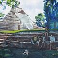 Myan Temple by Howard Stroman
