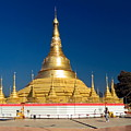 Myanmar Temple by Sally Weigand