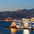 Mykonos Little Venice Panorama by Songquan Deng