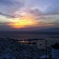 Mykonos Sunset Greece by J K