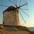 Mykonos Windmill  by Joe  Ng