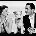 Myrna Loy Asta William Powell Publicity Photo The Thin Man 1936 by David Lee Guss