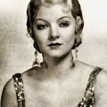 Myrna Loy, Vintage Actress by John Springfield