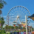 Myrtle Beach Ferris Wheel by Tony Baca