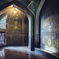 Mysterious Corridor In Persian Mosque by Alexandre Rotenberg