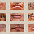 Mystery Mouths Of The Action Genre by Mitch Frey