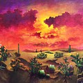 Mystery Of The Desert by Randy Burns