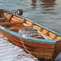 Mystic Fishing Boat by Jodi Higgins