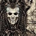 Mystic Future And Past - Ion Prophecies - Monotone  by Daniel Arrhakis