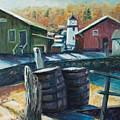 Mystic Harbor by Rick Nederlof