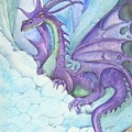 Mystic Ice Palace Dragon by Morgan Fitzsimons