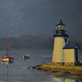 Mystic Lighthouse by Rich Alexander