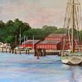 Mystic River Argia by Jodi Higgins