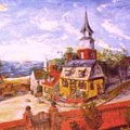 Mystic Seaport Colonial Era by Alfred P  Verhoeven