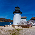 Mystic Seaport Lighthouse by Brian MacLean