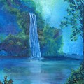 Mystic Waterfall by SheRok Williams