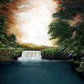 Mystical Falls by Ruben  Flanagan