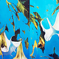 Mysticoblue by Lin Petershagen