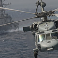 N Mh-60s Knight Hawk Delivers Supplies by Stocktrek Images
